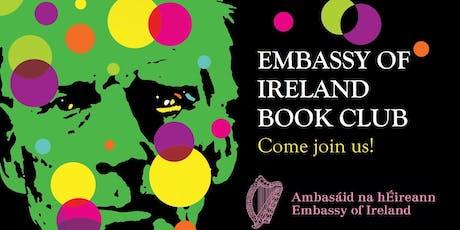 embassy of ireland book club 16 october registration tue 16 oct