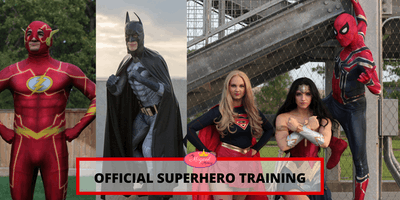 Official Superhero Training by REAL SUPERHEROES!