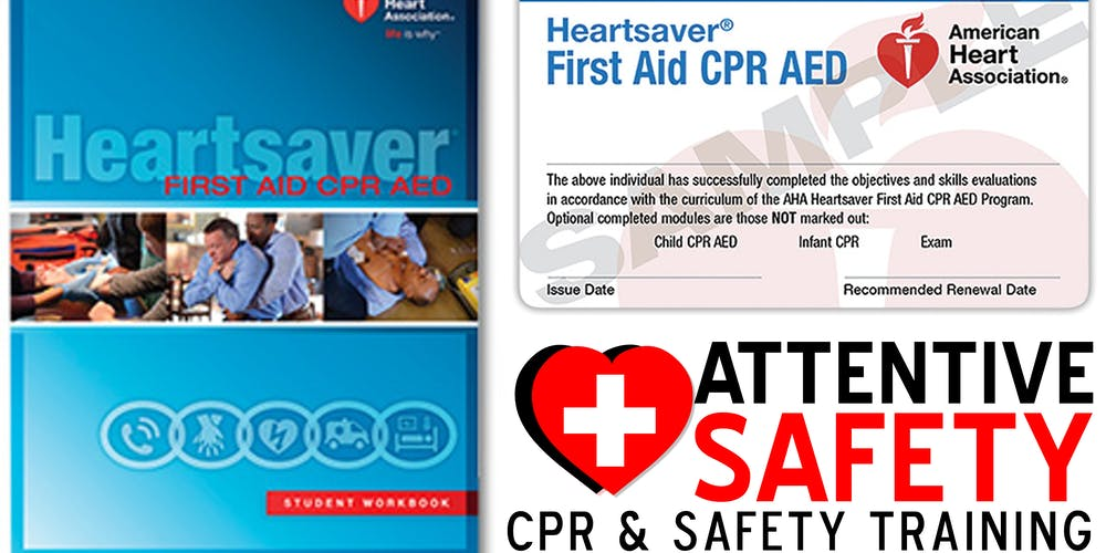 Heartsaver First Aid Cpr Aed Adult Child And Infant Classroom