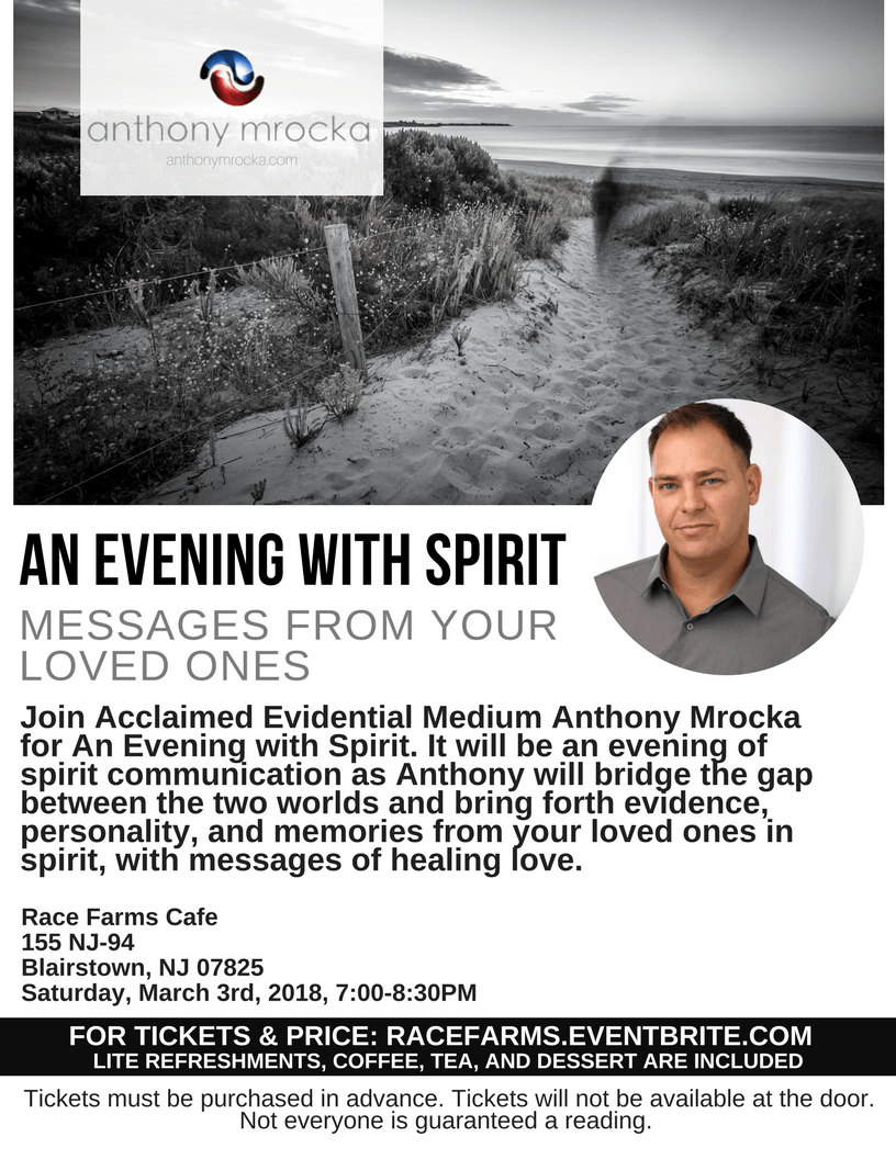 An Evening With Spirit: Messages From Your Loved Ones At Storm Wisdom