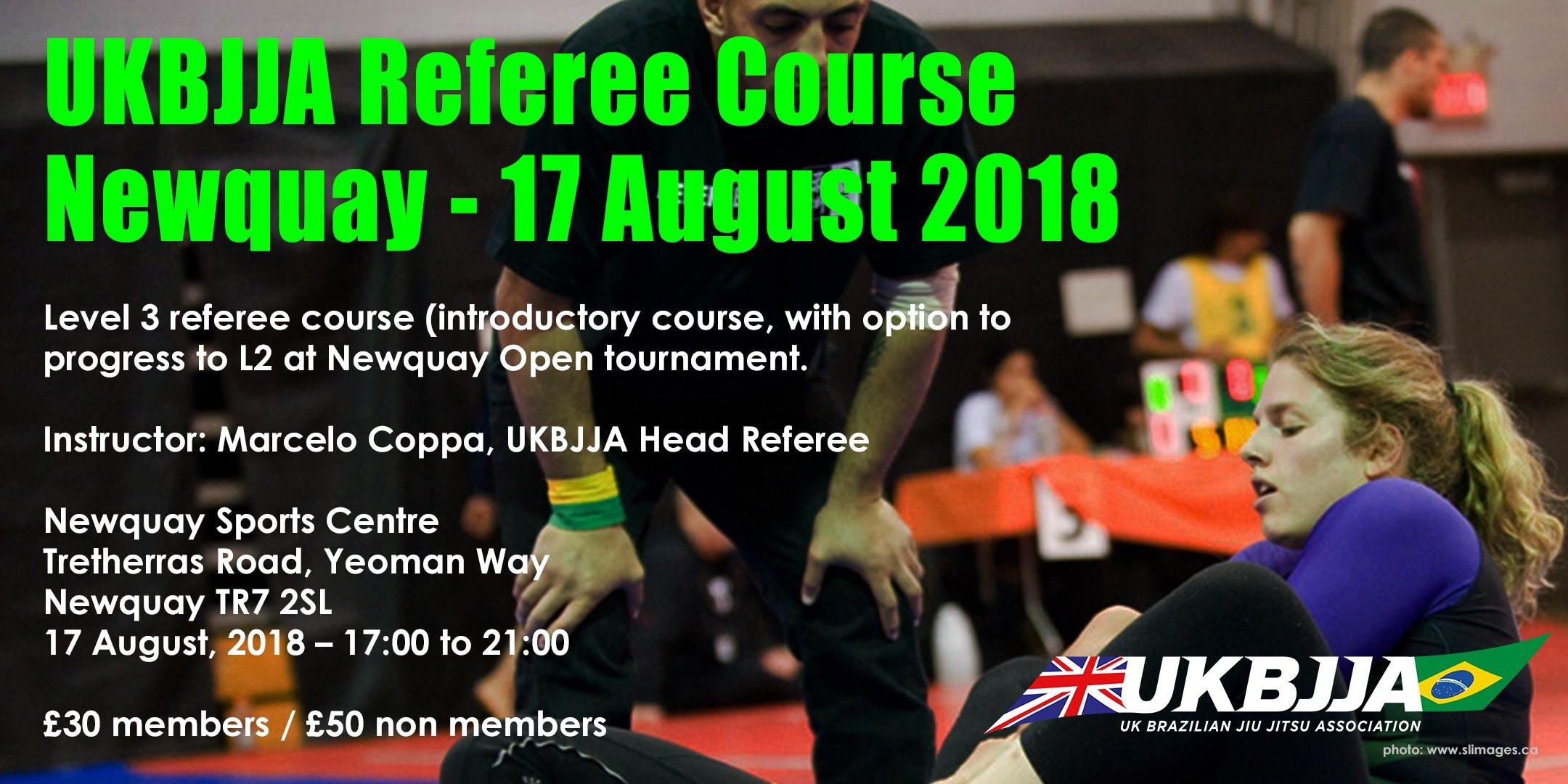 Brazilian Jiu Jitsu Referee Course - Level 3