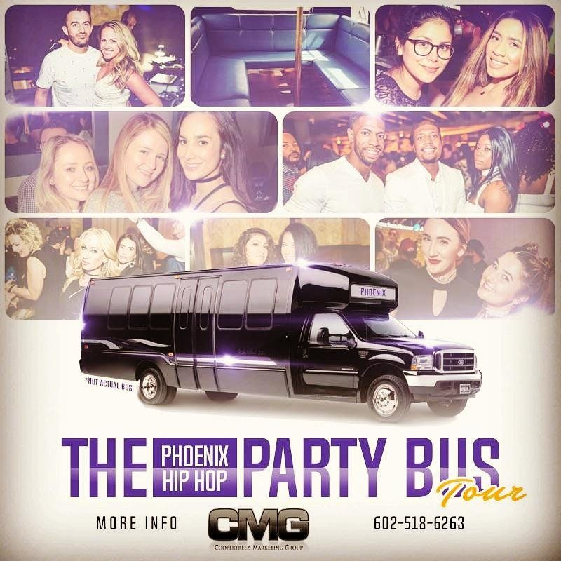 The Phoenix Hiphop Party Bus Tour