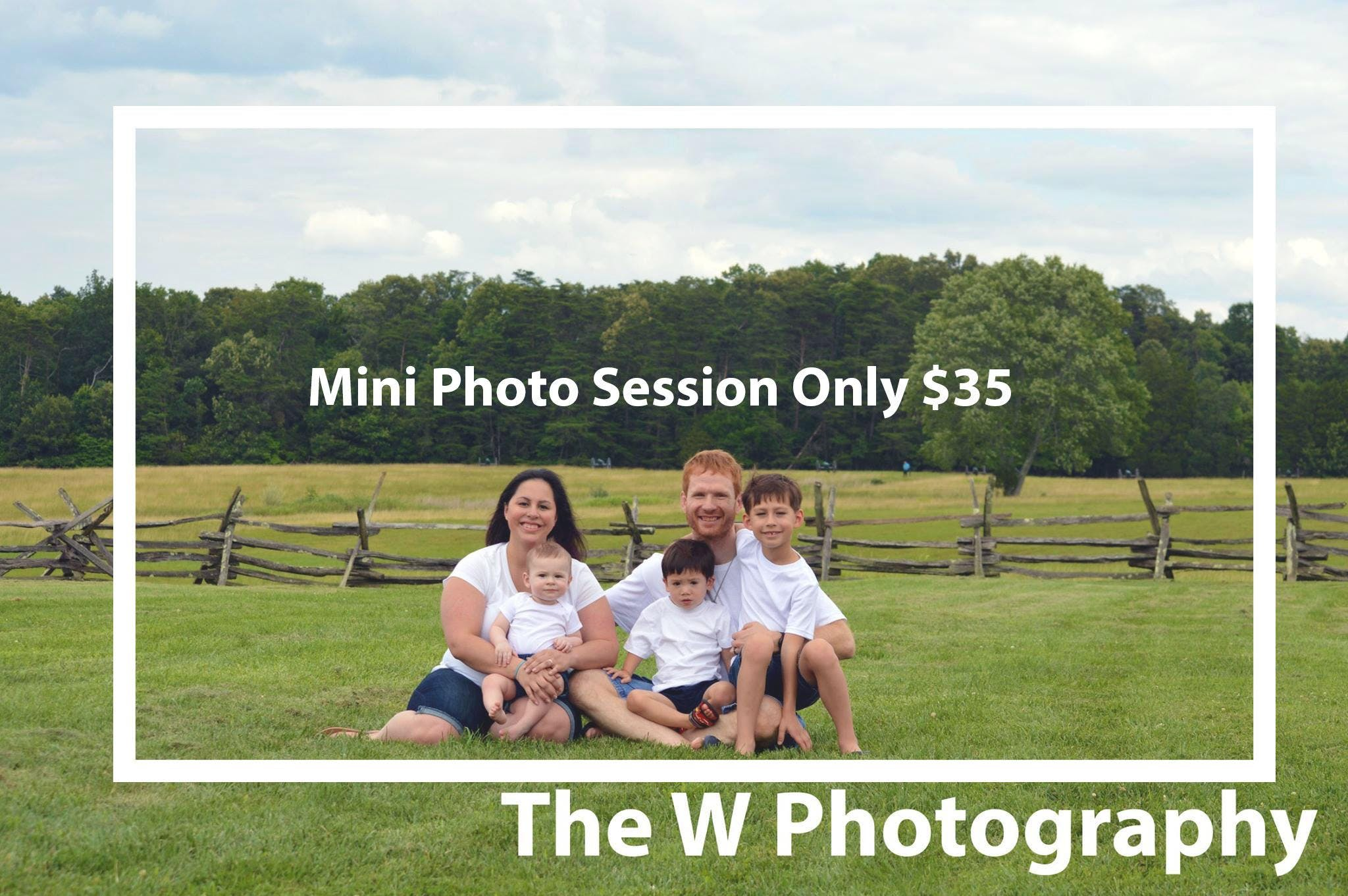 Limited Mini Photo-Shoot at Devou Park The W