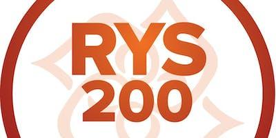 200 - Hour Yoga Teacher  Certification Training