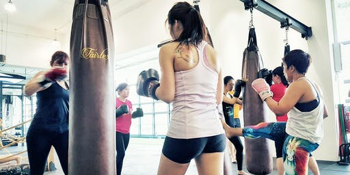 Bee Sting Kickboxing Fitness Training @ The Playground Bangsar