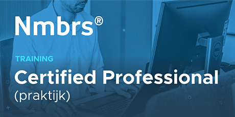 Nmbrs® Certified Professional Training (Praktijk) tickets