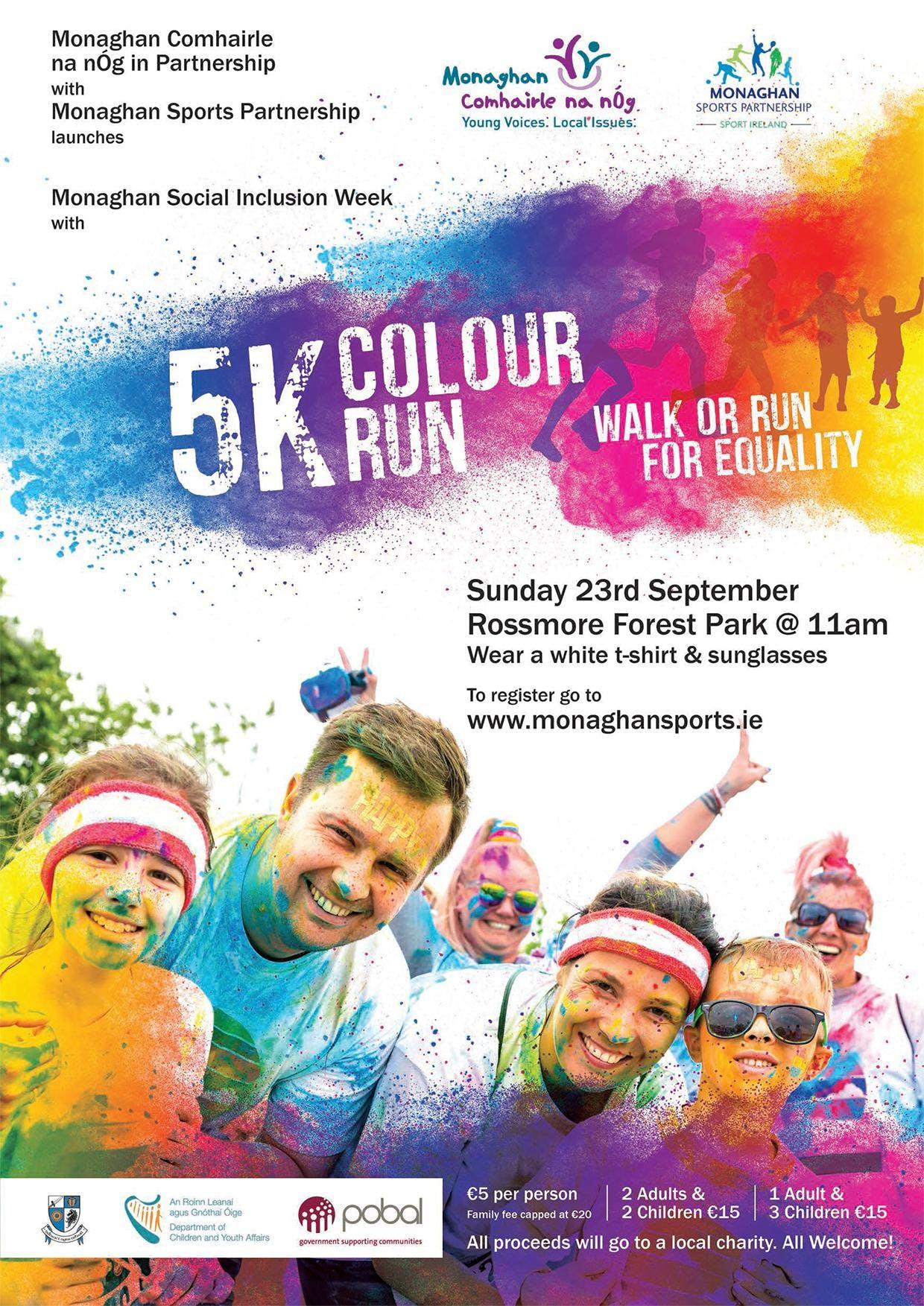 5km Colour Run for Fun (Monaghan)
