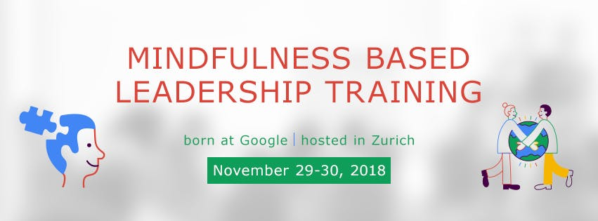 Search Inside Yourself Leadership Training Zurich, born at Google in German