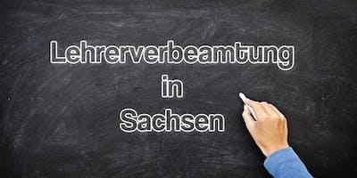 Infoveranstaltung Lehrerverbeamtung in Sachsen