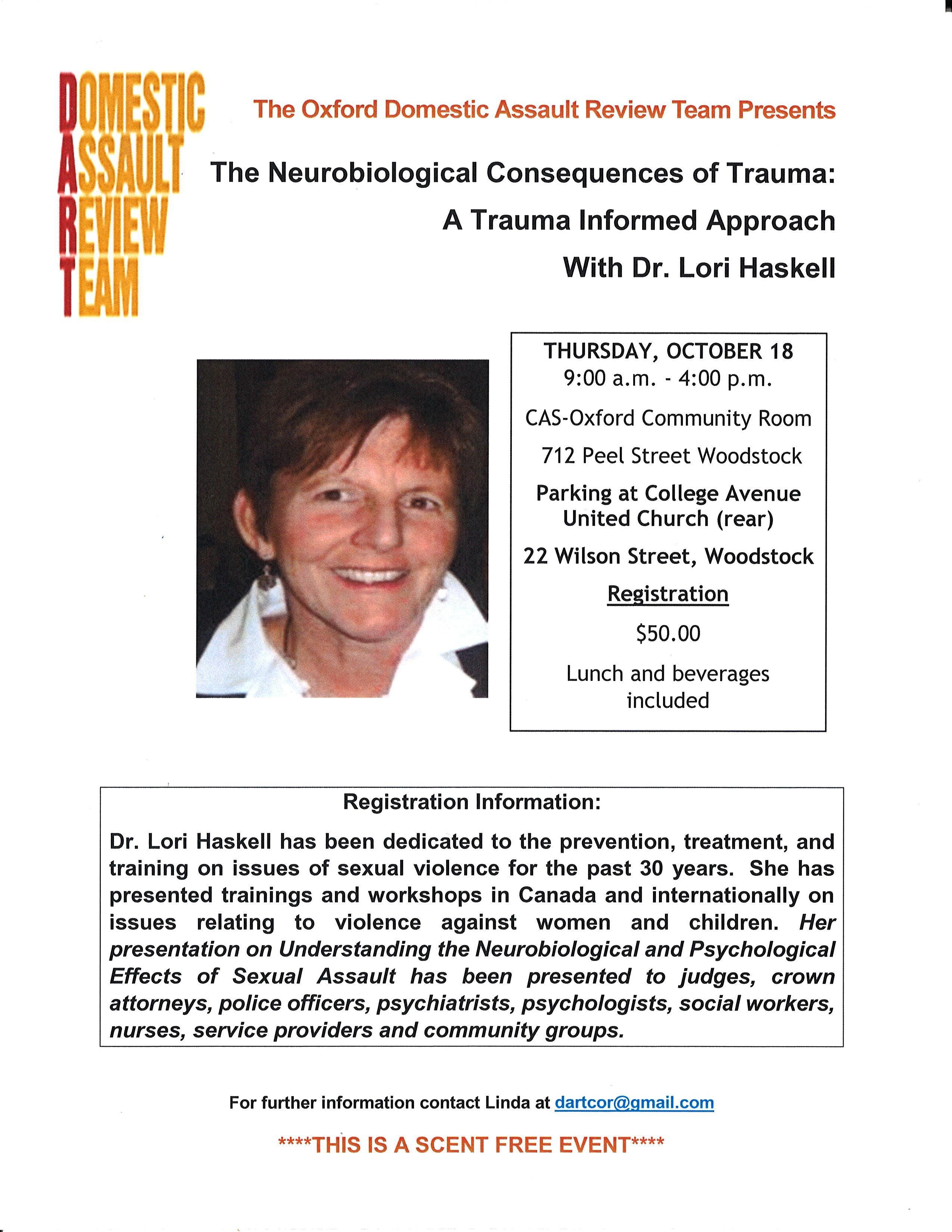 The Neurobiological Consequences of Trauma: A
