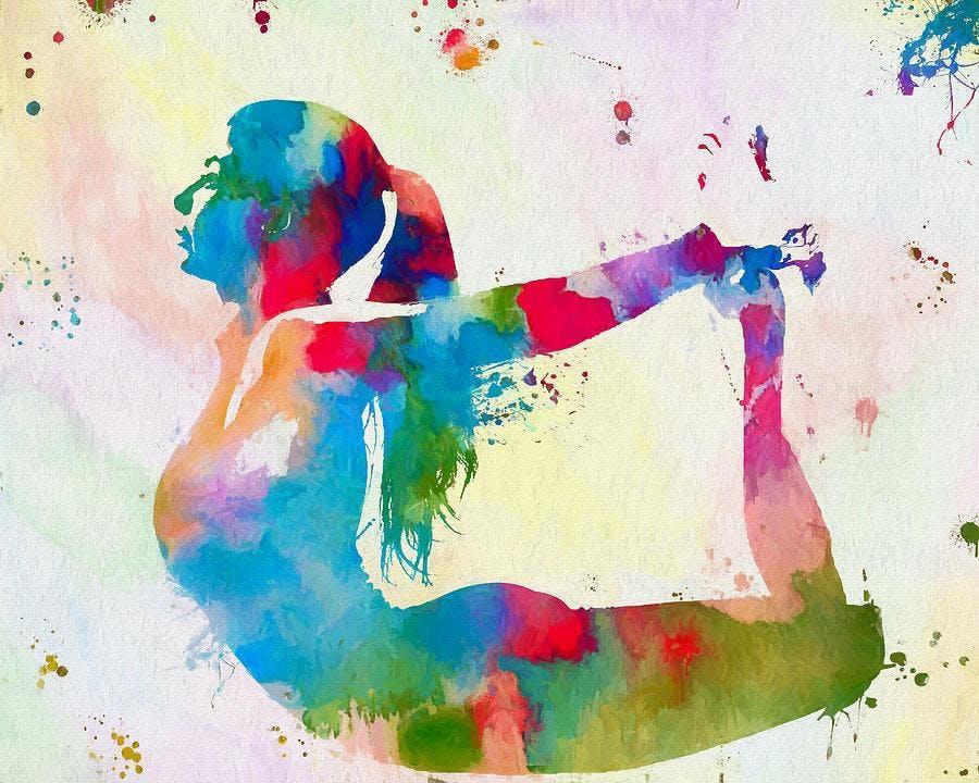 Yoga + Paint Party