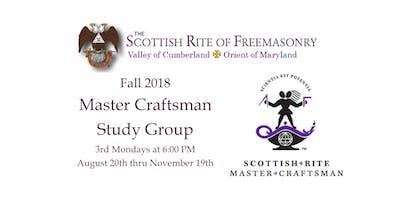Master Craftsman - Scottish Rite History & Ritual