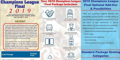 Livin2Travel Champions League Final 2019
