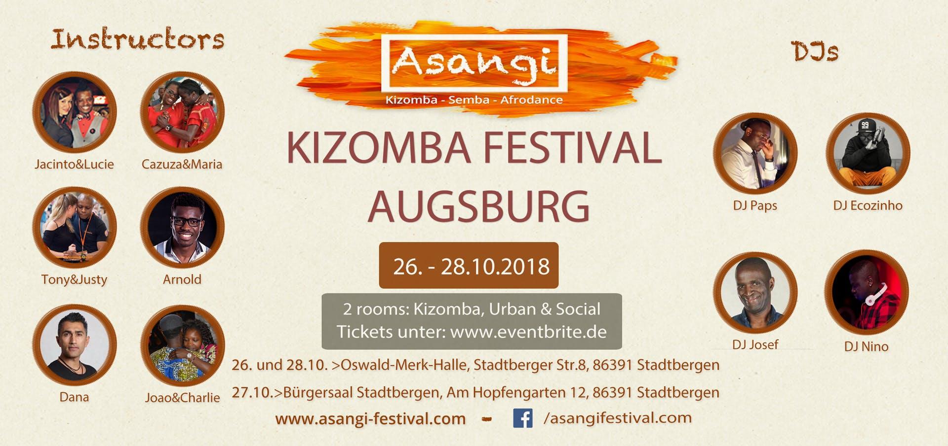 ASANGI-KIZOMBA-FESTIVAL-AUGSBURG 2th Edition