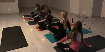WINTER 2020 Teen Girl Power Yoga (7th-8th graders)