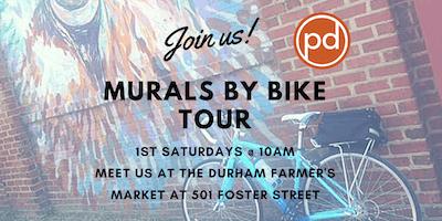 Durham's Murals by Bike Tour