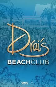 DRAIS BEACH CLUB - POOL PARTY - GUEST LIST -