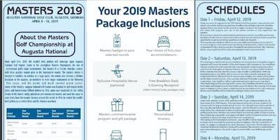 Livin2Travel Presents Masters 2019