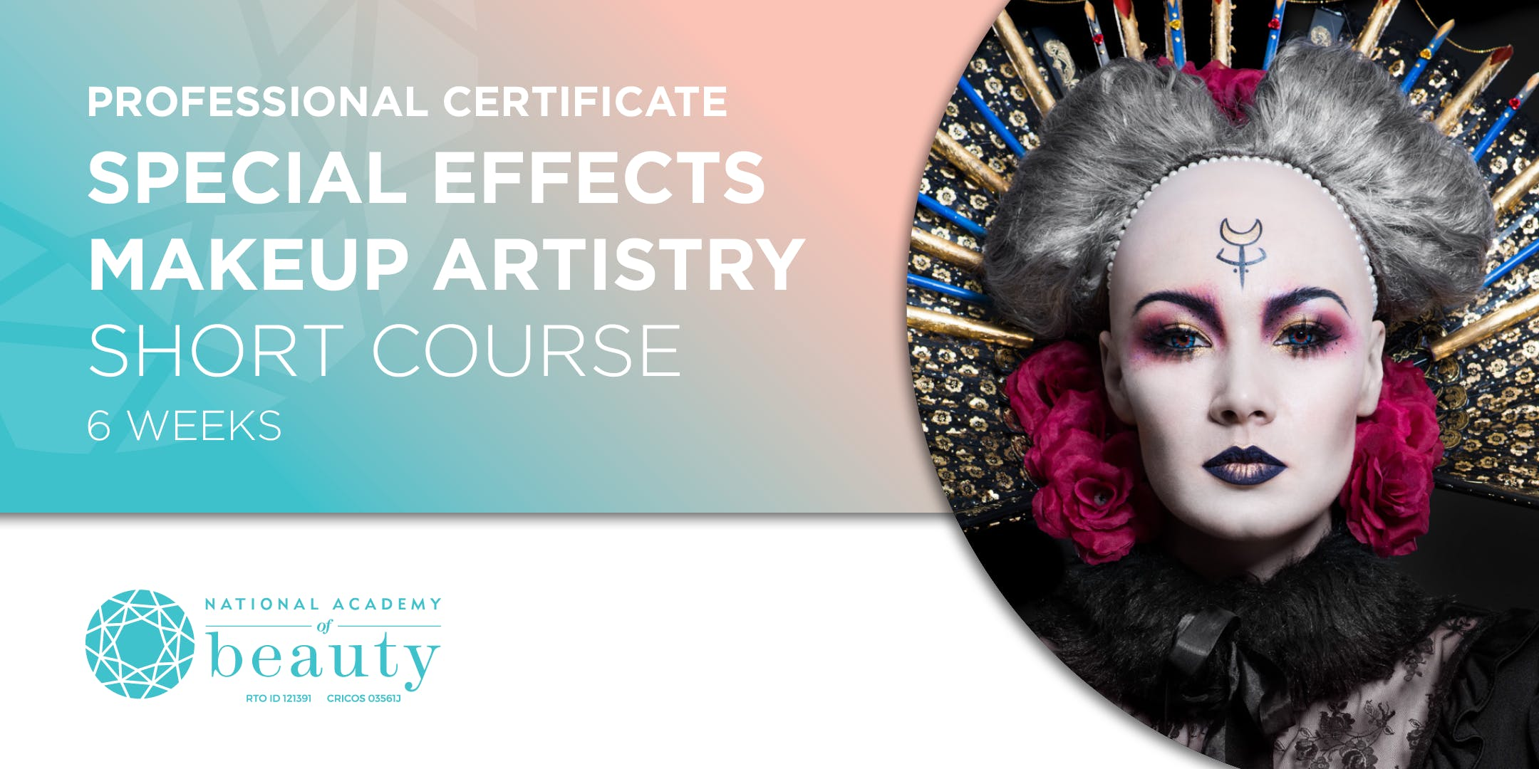 Professional Certificate Special Effects Makeup Artistry Course 6 Weeks Melbourne