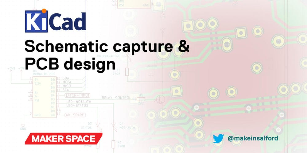 KiCad: Schematic capture & PCB design Registration, Multiple Dates ...