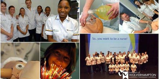 Burton Centre Open Day - Nursing and Midwifery