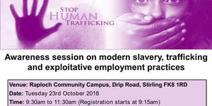 Modern Slavery, Trafficking and Exploitative...
