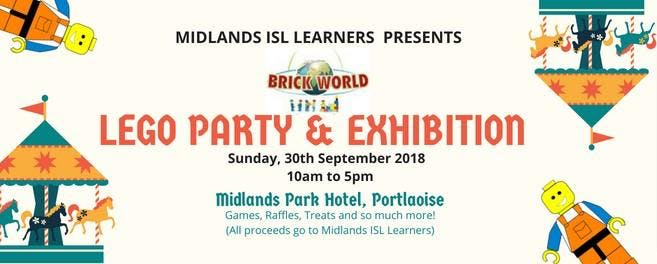 LEGO PARTY & EXHIBITION FUNDRAISER ADULT TICKET