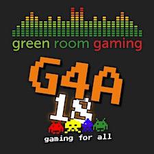 Green Room Gaming logo