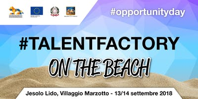 Talent Factory On the beach