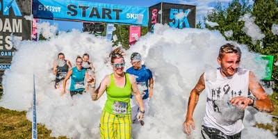 THE 5K FOAM FEST LEDUC, AB July 6, 2019