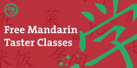 Free Mandarin Taster Classes tickets