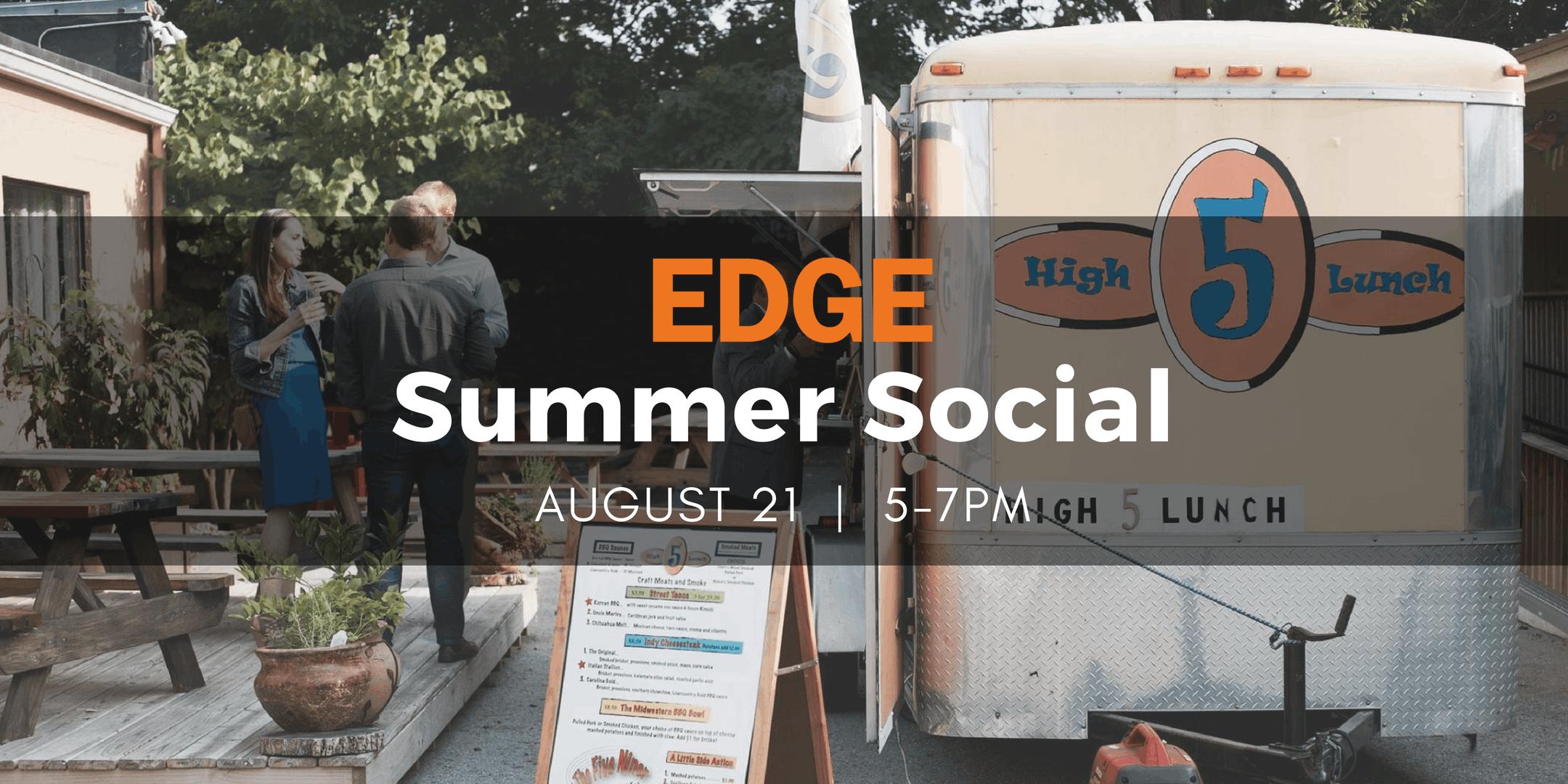 EDGE Summer Social