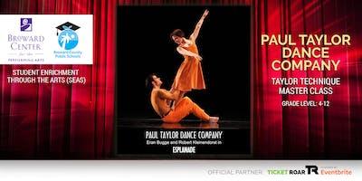 Paul Taylor Dance Company - Taylor Technique Masterclass