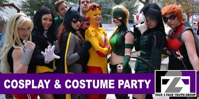 F2FYouthGroup: Cosplay and Costume Party