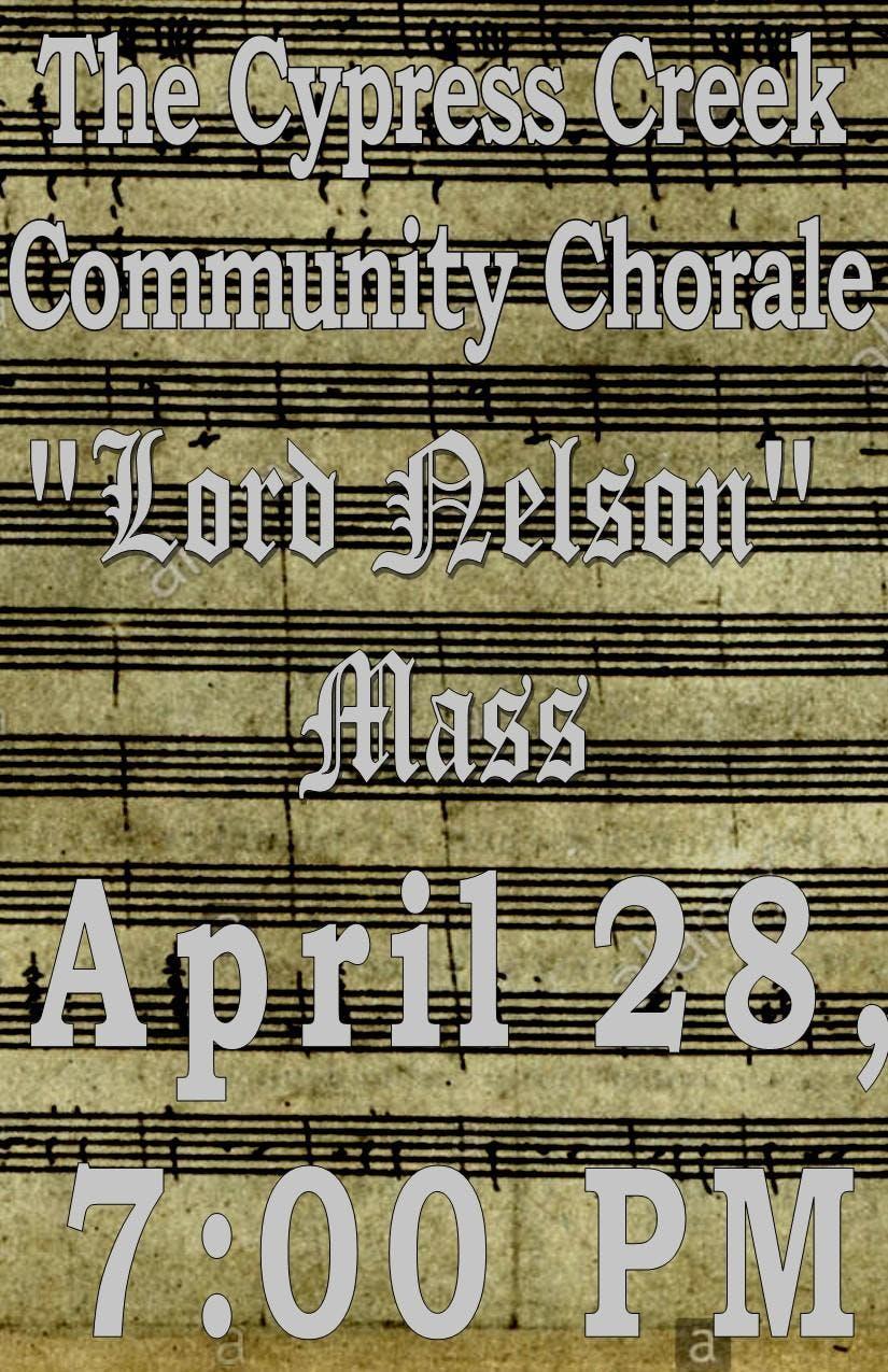 The Cypress Creek Community Chorale presents
