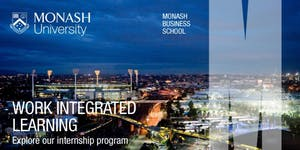 Monash Business School - Semester 2, 2019 Induction...