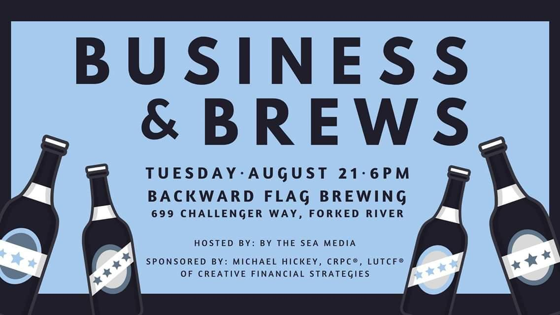 Business & Brews at Backward Flag Brewing Co.