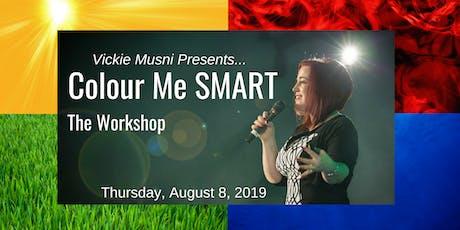 Colour Me Smart Workshop  tickets