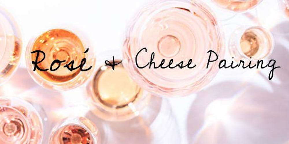 Image result for rosé and cheese pairing