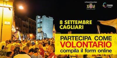 Cagliari Urban Trail 2018 - Volontari segnalatori di percorso
