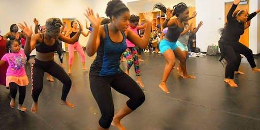 HAITIAN FOLKLORE DANCE CLASS