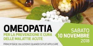 Omeopatia per la prevenzione e cura delle malattie acut...
