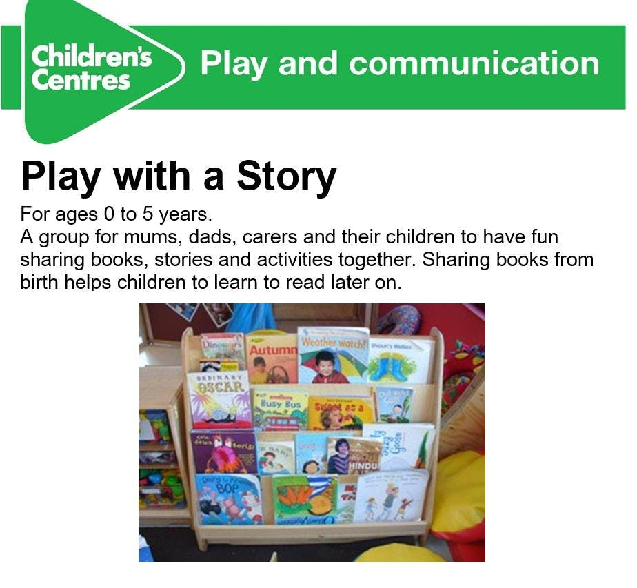 Play with a story - Sue Bramley Childrens Cen