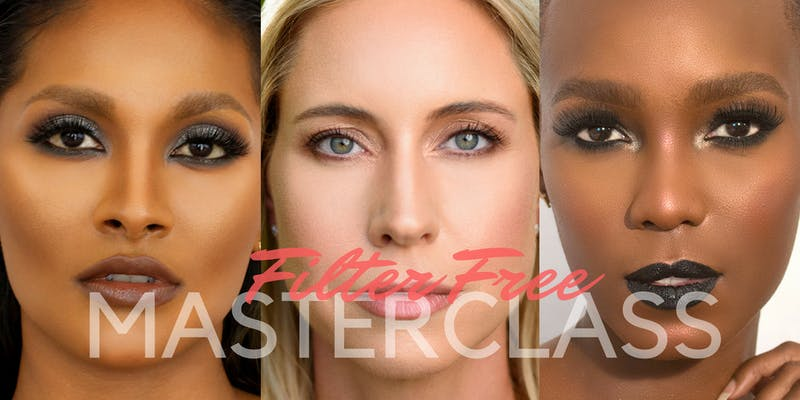 Filter Free Makeup Masterclass by Gail Clarke