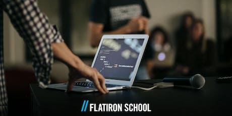 Data Science 101 Workshop | Flatiron School tickets