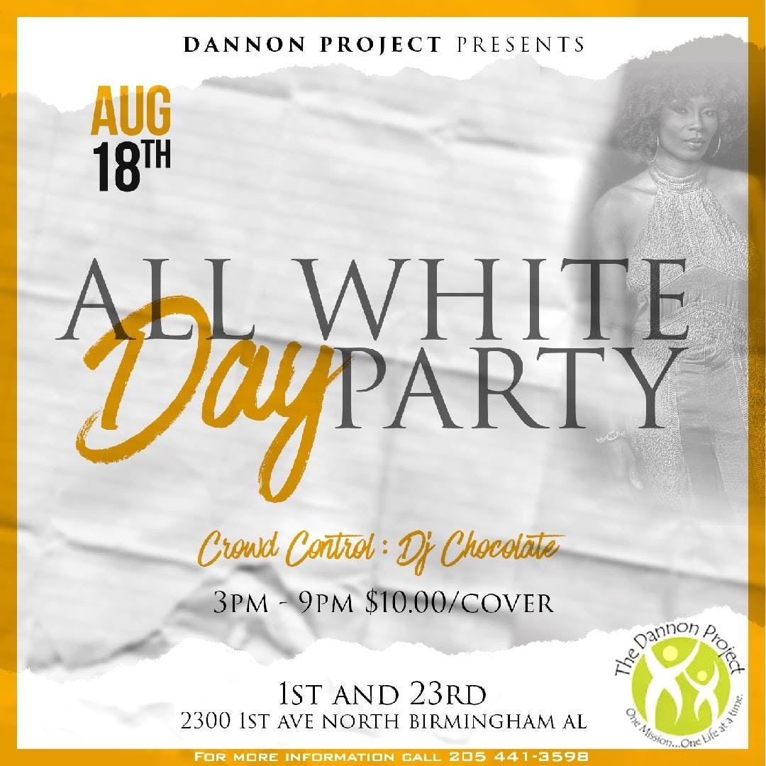 All White Day Party