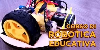 Corso di robotica educativa - sett 2018