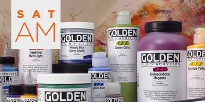 Golden Acrylics Lecture & Demo