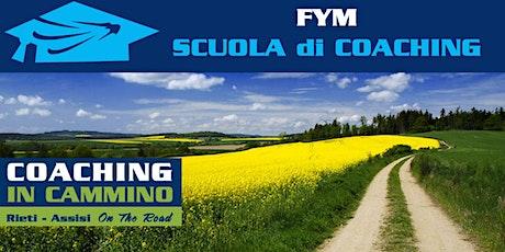 COACHING IN CAMMINO primavera 2021 biglietti