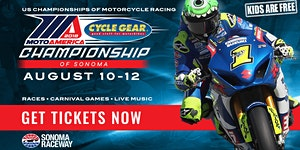 2018 MotoAmerica: Cycle Gear Championship of Sonoma